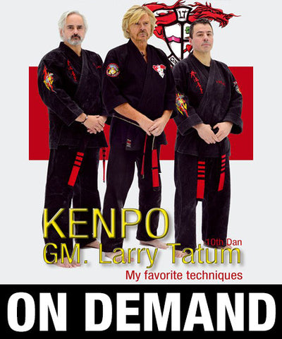Kenpo, My Favorite Techniques by Larry Tatum (On Demand) - Budovideos