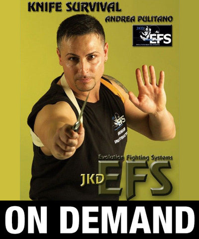 Knife Survival Evolution Fighting Systems by Andrea Pulitano (On Demand)