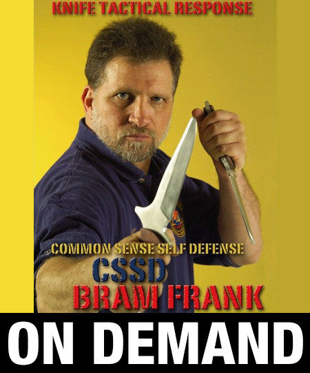 Knife Tactical Response CSSD by Bram Frank (On Demand) - Budovideos
