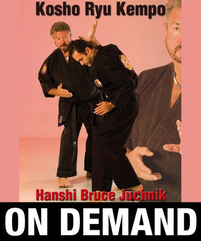 Kosho Ryu Kenpo by Bruce Juchnik (On Demand) - Budovideos