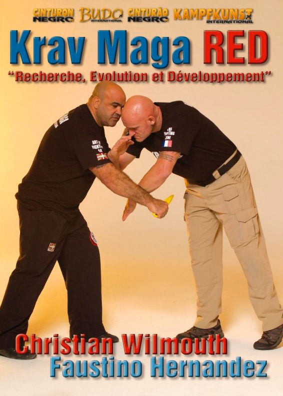 DVD Cover - Krav Maga RED Research, Evolution, Development DVD with Christian Wilmouth