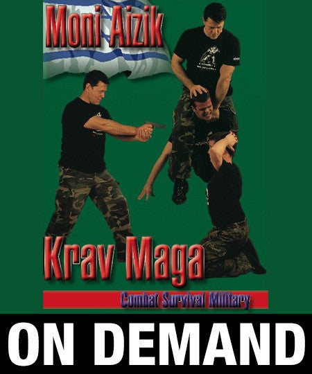 Combat Survival Krav Maga by Moni Aizik (On Demand)