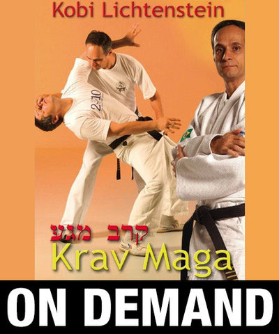 Krav Maga by Kobi Lichtenstein (On Demand) - Budovideos