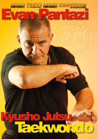 DVD Cover - Kyusho Jutsu in Taekwondo DVD with Evan Pantazi