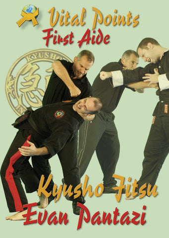Kyusho Jitsu: Vital Points First Aid by Evan Pantazi (E-book)