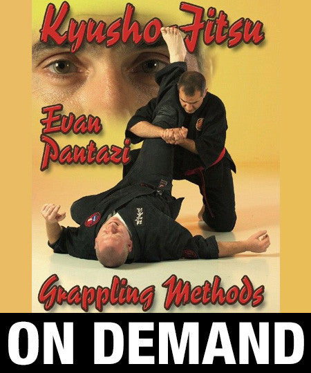 Kyusho Jitsu Grappling Methods by Evan Pantazi (On Demand)