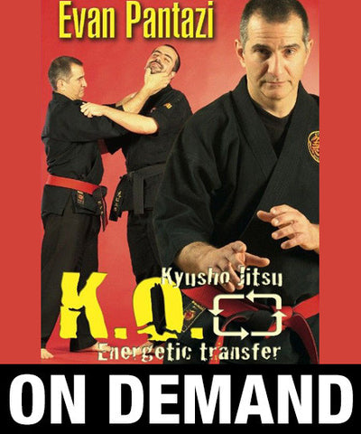 Kyusho Jitsu KO Energetic Transfer by Evan Pantazi (On Demand) - Budovideos