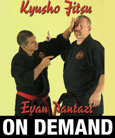 Kyusho Jitsu Knife Attacks by Evan Pantazi (On Demand)