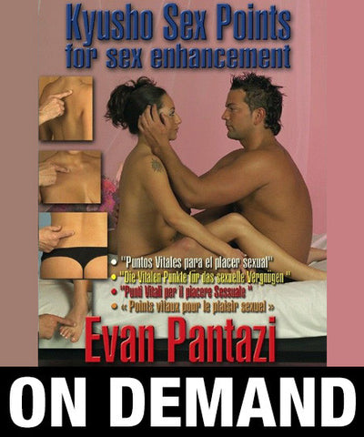 Kyusho Jitsu Points for Sex Enhancement by Evan Pantazi (On Demand) - Budovideos