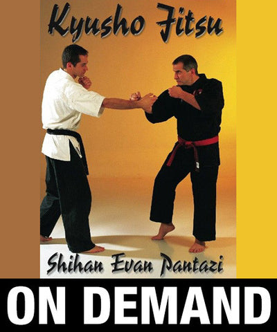 Kyusho Jitsu Points on the Arms by Evan Pantazi (On Demand) - Budovideos