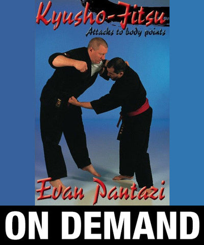 Kyusho Jitsu Points on the Body by Evan Pantazi (On Demand)