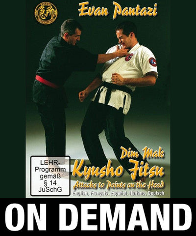 Kyusho Jitsu Points on the Head by Evan Pantazi (On Demand) - Budovideos