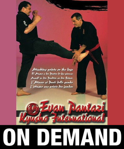 Kyusho Jitsu Points on the Legs by Evan Pantazi (On Demand) - Budovideos