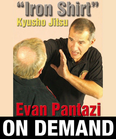 Kyusho Jitsu The Iron Shirt by Evan Pantazi (On Demand)