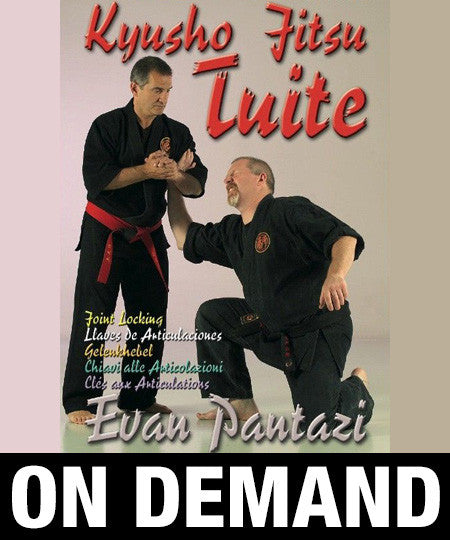 Kyusho Jitsu Tuite Joint Locking by Evan Pantazi (On Demand)