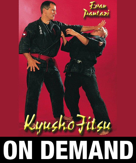 Kyusho Jitsu Vol 1 by Evan Pantazi (On Demand)