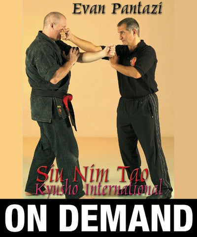 Kyusho Jitsu in Forms Siu Nim Tao by Evan Pantazi (On Demand)