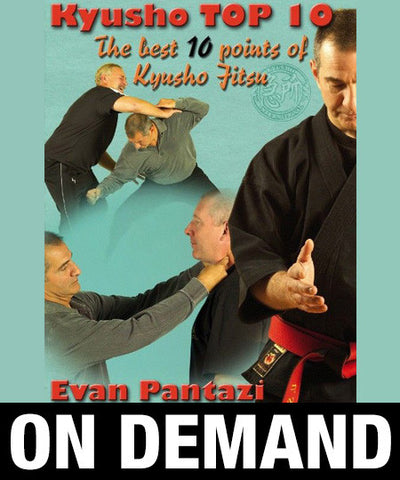 Kyusho Jutsu Kyusho Top 10 Points by Evan Pantazi (On Demand) - Budovideos