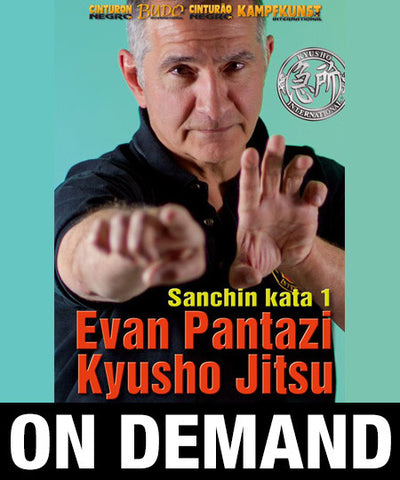 Kyusho Sanchin Kata Vol 1 by Evan Pantazi (On Demand) - Budovideos