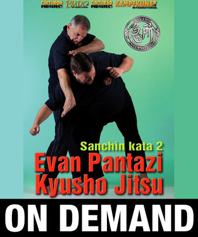 Kyusho Sanchin Kata Vol 2 by Evan Pantazi (On Demand) - Budovideos