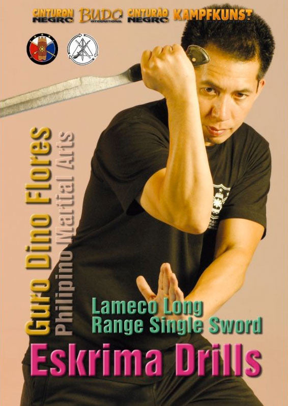 DVD Cover - Lameco Eskrima Single Sword DVD with Dino Flores