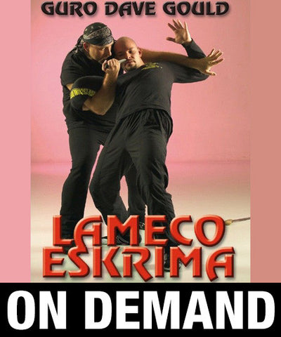 Lameco Eskrima Essential Knife 1 by Dave Gould (On Demand) - Budovideos