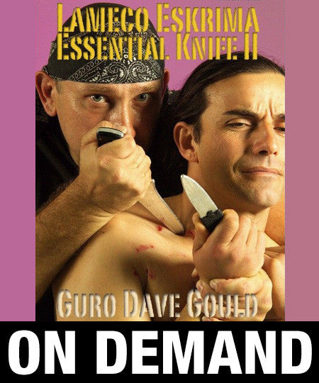 Lameco Eskrima Essential Knife 2 by Dave Gould (On Demand) - Budovideos