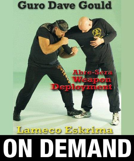 Lameco Eskrima Essential Knife 3 by Dave Gould (On Demand) - Budovideos