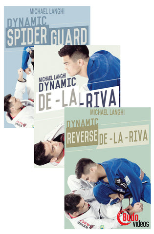 Dynamic Open Guard 3 DVD Set by Michael Langhi