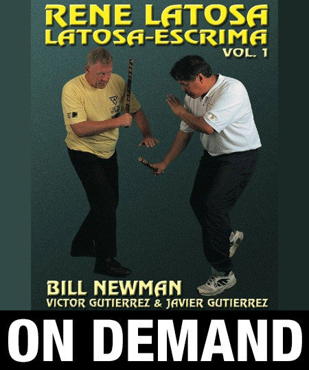Latosa Escrima Vol 1 by Rene Latosa (On Demand)