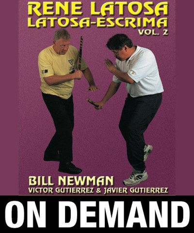 Latosa Escrima Vol 2 by Rene Latosa (On Demand)