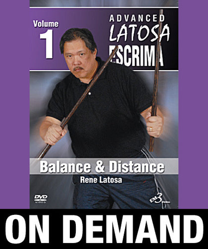 Advanced Latosa Escrima Vol-1 by Rene Latosa (On Demand) - Budovideos