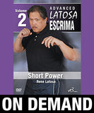 Advanced Latosa Escrima Vol-2 by Rene Latosa (On Demand) - Budovideos