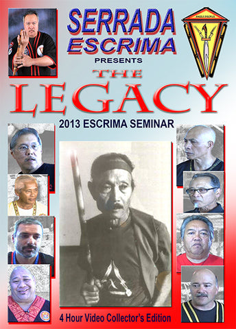 The Legacy Escrima Seminar 2 DVD Set by Darren Tibon 1
