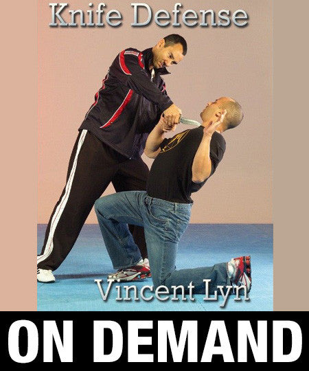 Ling Gar Kung Fu Knife Defense by Vincent Lyn (On Demand)