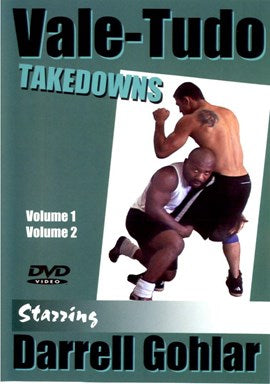 Vale Tudo Takedowns 2 DVD Set with Darrel Gholar (Preowned)