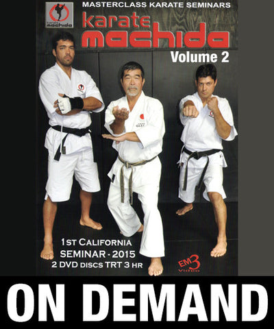 MACHIDA Karate Family 2015 Seminar Vol 2 (On Demand)