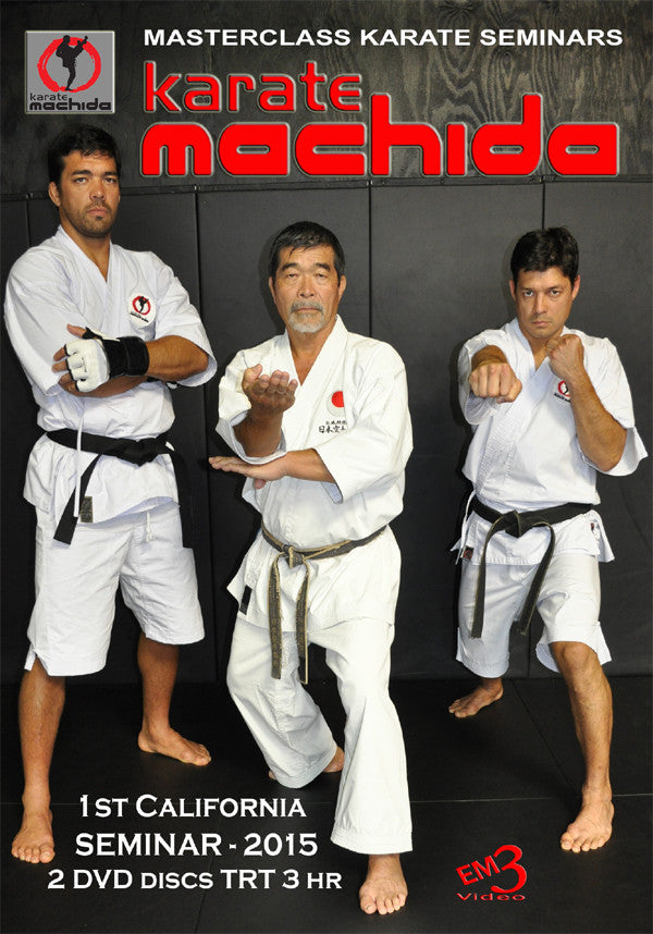 MACHIDA Karate Family 2015 Seminar 2 DVD Set - Budovideos