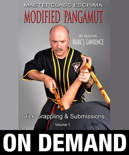 Masterclass Escrima - Modified Pangamut Volume 1: Stick Grappling & Submissions by Marc Lawrence (On Demand) - Budovideos