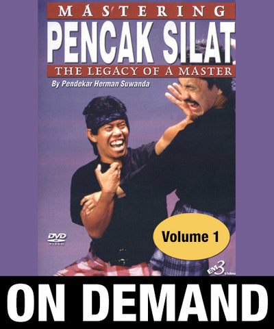 Mastering Pencak Silat Volume 1 by Herman Suwanda (On Demand) - Budovideos