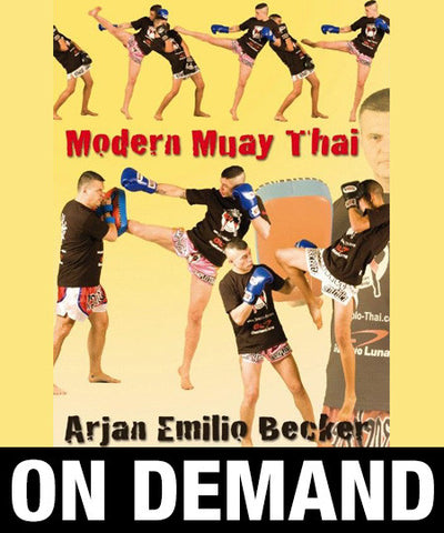 Modern Muay Thai with Emilio Becker (On Demand) - Budovideos