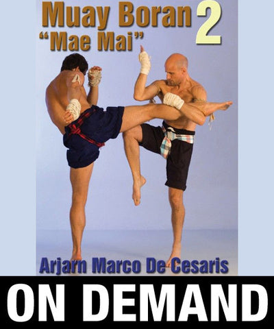 Muay Boran Mae Mai Vol 2 with Marco de Cesaris (On Demand) - Budovideos