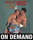 Chap Ko Muay Thai with Marco de Cesaris (On Demand) - Budovideos