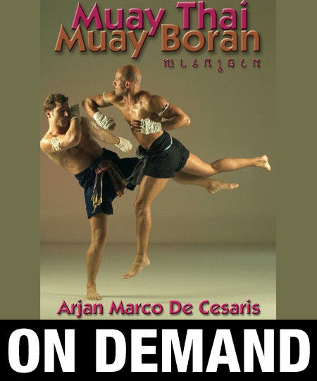The Elbows of Muay Thai Boran by Marco De Cesaris (On Demand)