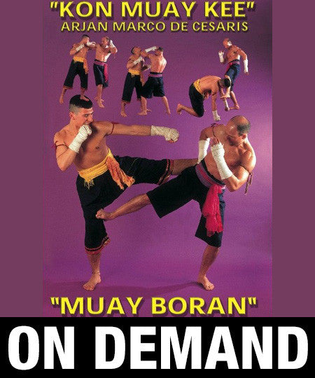 Kon Muay Kee Muay Boran by Marco de Cesaris (On Demand)