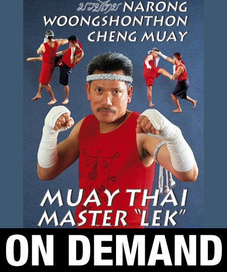Narong Woongshonthon Cheng Muay with Khru Lek (On Demand)