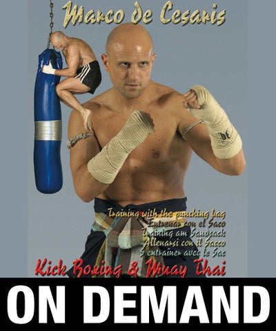 Muay Thai Kick Boxing Puching Bag with Marco de Cesaris (On Demand)