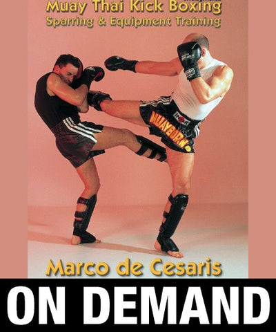 Muay Thai Kick Boxing Sparring with Marco De Cesaris (On Demand) - Budovideos