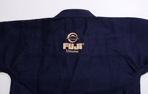 Back of Jacket - Navy All Around BJJ Gi by Fuji