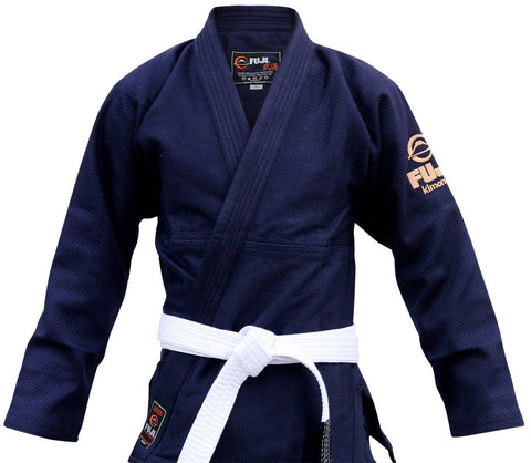 Jacket - Kid's Navy All Around BJJ Gi by Fuji